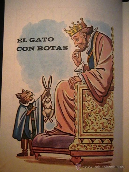 Libros de segunda mano: el gato con botas Santillana Madrid - Foto 3 - 31271870