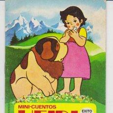 Libros de segunda mano: MINI-CUENTOS HEIDI.Nº 2. PITCHI. BRUGUERA 1975.. Lote 31299742