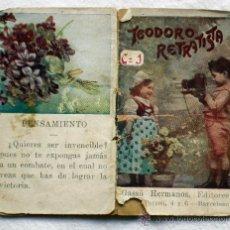 Libros de segunda mano: TEODORO RETRATISTA - CUENTOS INFANTILES SERIE C Nº 1 - GASSO HNOS EDITORES. Lote 31351870
