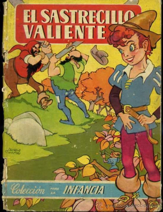 EL SASTRECILLO (BRUGUERA INFANCIA) ILUSTRADO POR SALVADOR MESTRES (Libros de Segunda Mano - Literatura Infantil y Juvenil - Cuentos)
