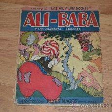 Libros de segunda mano: ALI-BABA Y LOS CUARENTA LADRONES. Lote 31630284