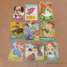 Libros de segunda mano: LOTE DE 9 CUENTOS INFANTILES ANTIGUOS. . Lote 31873734