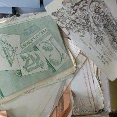 Libros de segunda mano: GRAN LOTE DE LIBROS Y FOLLETOS DE BORDADOS ANTIGUOS. A PESO! 2 KG. DE LIBRITOS!. Lote 152161297