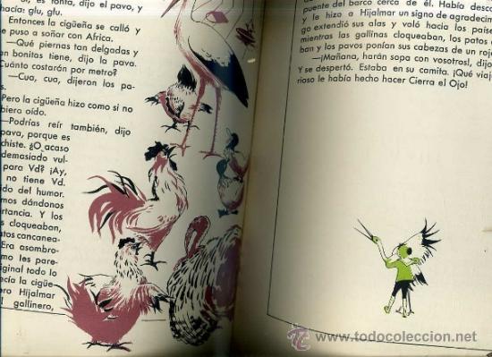 Libros de segunda mano: ANDERSEN : CIERRA EL OJO / EL PEQUEÑO ELFO -ILUSTRADO POR IDE (DESCLÉE, 1954) GRAN FORMATO - Foto 2 - 31633272