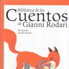 Libros de segunda mano: BIBLIOTECA DE LOS CUENTOS DE GIANNI RODARI / ILUSTRACIONES: JUDIT MORALEAS. Lote 32295434