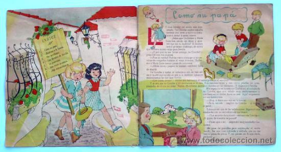 Libros de segunda mano: MARI PEPA EN SEVILLA. TEXTO, EMILIA COTARELO. ILUSTRACIONES, MARIA CLARET. I. G. VALVERDE. - Foto 2 - 32622090