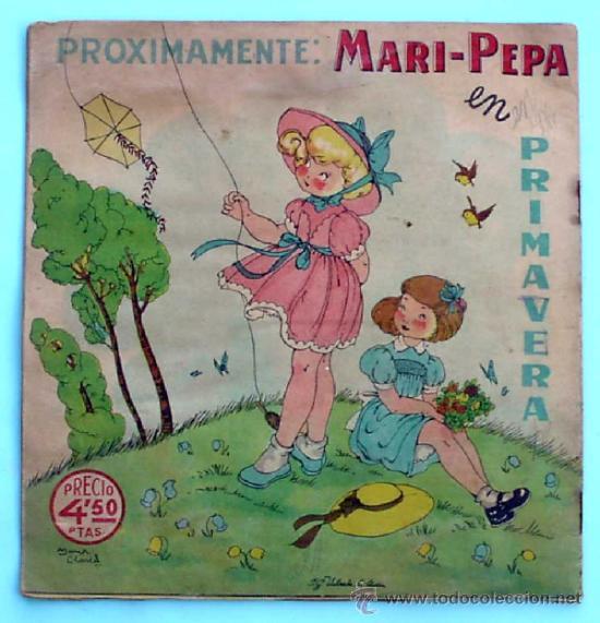 Libros de segunda mano: MARI PEPA EN SEVILLA. TEXTO, EMILIA COTARELO. ILUSTRACIONES, MARIA CLARET. I. G. VALVERDE. - Foto 4 - 32622090