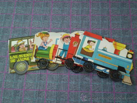 lote de 3 cuentos infantiles con forma de tren - Comprar Libros de ...