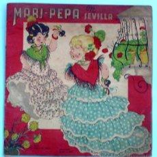 Libros de segunda mano: MARI PEPA EN SEVILLA. TEXTO, EMILIA COTARELO. ILUSTRACIONES, MARIA CLARET. I. G. VALVERDE.. Lote 32622090