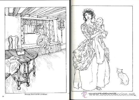 2 libros para colorear arthur rackham, public.d - Vendido en Venta ...