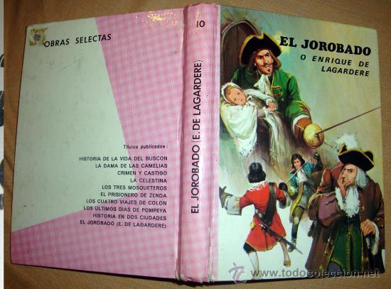UN LIBRO DE PAUL FEVAL-EL JOROBADO O ENRIQUE DELAGARDÈRE-EDITORIAL VASCO AMERICANA 1969 (Libros de Segunda Mano - Literatura Infantil y Juvenil - Cuentos)