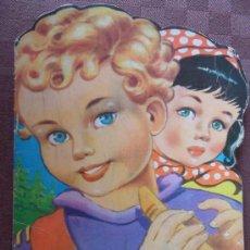 Libros de segunda mano: CUENTO TROQUELADO LOS DOS PASTORCILLOS DIBUJOS DE ANDRES BAÑOLAS AÑO 1958 VER FOTOS CUENTOS TORAY. Lote 32629828
