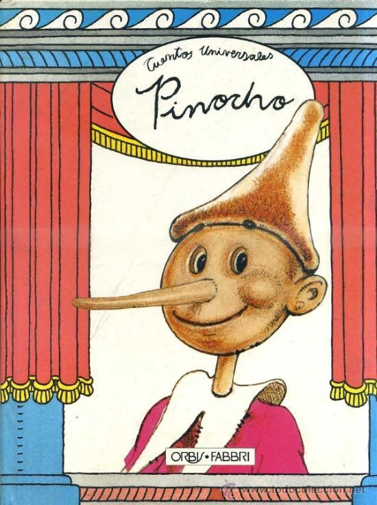 PINOCHO - PINOCCHIO (ORBIS, 1992) (Libros de Segunda Mano - Literatura Infantil y Juvenil - Cuentos)
