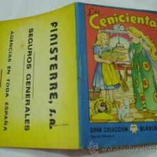 Libros de segunda mano - LA CENICIENTA. TESORO DE CUENTOS. Publicidad FINISTERRE Seguros Generales. 1963 - 32783030