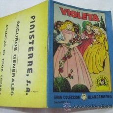 Libros de segunda mano - VIOLETA. TESORO DE CUENTOS. Publicidad FINISTERRE Seguros Generales. 1963 - 32783051