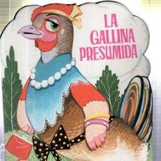 Libros de segunda mano: CUENTO TORAY ZOO, SERIE A, TROQUELADO, NUEVOS, Nº 8, LA GALLINA PRESUMIDA. Lote 32867297