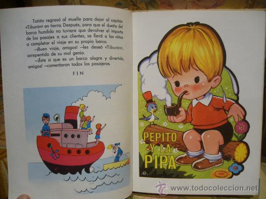 Libros de segunda mano: CUENTOS AZULES. TOMO 7. TORAY 1.978. - Foto 3 - 33294709