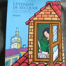Libros de segunda mano: LEYENDAS DE BECQUER ELIACER CANSINO. Lote 33299842