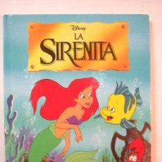 Libros de segunda mano: MM - LA SIRENITA DISNEY EDITORIAL EVEREST AÑO 1993 (CARTONET). Lote 34012699