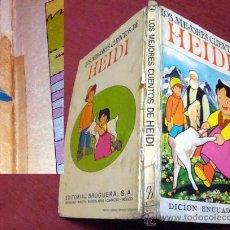 Libros de segunda mano: LOS MEJORES CUENTOS DE HEIDI DE BRUGUERA EL Nº 2 1975 TAPA DURA. Lote 33391195