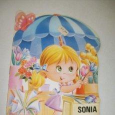 Libros de segunda mano: SONIA LA FLORISTA, TROQUELADOS MIS TIENDAS , Nº. 2.- EDT: BRUGUERA-1ª. EDC.- 1983. Lote 33742557