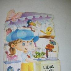 Libros de segunda mano: LIDIA Y SU PAJARERÍA, TROQUELADOS MIS TIENDAS , Nº. 5.- EDT: BRUGUERA-1ª. EDC.- 1983. Lote 33742561