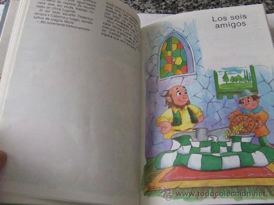 Libros de segunda mano: Cuentos de Perrault y otros autores. Colección Fantasía. La Cenicienta, Caperucita Roja, etc. - Foto 2 - 34145780
