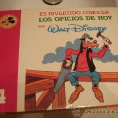Libros de segunda mano: LOS OFICIOS DE HOY, WALT DISNEY, C. INTERNACIONAL DEL LIBRO AÑO 1986. Lote 34231435
