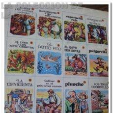 Libros de segunda mano: COLECCION COMPLETA 12 TOMOS CUENTOS CLÁSICOS AÑOS 65-67. Lote 34334449
