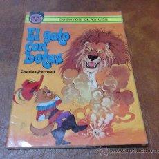 Libros de segunda mano: CUENTO: EL GATO CON BOTAS .-ED- ALONSO .- AÑO 1978. Lote 34506562