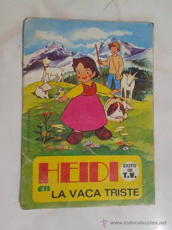 HEIDI LA VACA TRISTE EDITORIAL BRUGUERA 1975 (Libros de Segunda Mano - Literatura Infantil y Juvenil - Cuentos)