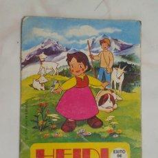 Libros de segunda mano: HEIDI LA VACA TRISTE EDITORIAL BRUGUERA 1975. Lote 34556372