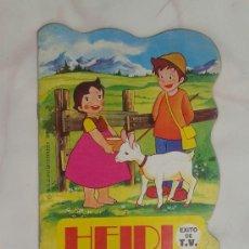 Libros de segunda mano: HEIDI COPO DE NIEVE EDITORIAL BRUGUERA 1975. Lote 34556390