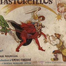 Libros de segunda mano: LOS PASTORCILLOS-ANGEL PUIGMIQUEL/IL.EMILIO FREIXAS AÑO 1951 (VER DETALLE). Lote 35381344