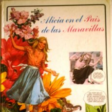 Libros de segunda mano: ALICIA EN EL PAIS DE LAS MARAVILLAS- EDITORIAL RM 1978. Lote 35394193