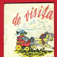 Libros de segunda mano: CUENTO ESTRELLA DE VISITA , CUENTECILLOS, COLECCION ESTRELLITAS, EDITORIAL JUVENTUD, ORIGINAL. Lote 35470886