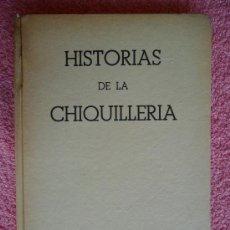 Libros de segunda mano: HISTORIAS DE LA CHIQUILLERIA EDITORIAL CERVANTES 1956 HANS FALLADA. Lote 35791260