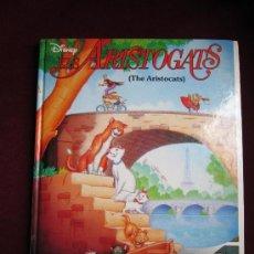 Libros de segunda mano: ELS ARISTOGATS. LOS ARISTOGATOS. DISNEY. EDICIÓN BILINGUE CATALÁN/INGLES. TAPA DURA 1996. Lote 36144489