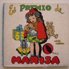 Libros de segunda mano: LIBRO MUÑECO. EL PREMIO DE MARISA. PILI 3. ED. MOLINO 1944. Lote 36194993