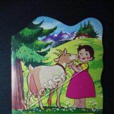 Libros de segunda mano: CUENTO TROQUELADO HEIDI EN UN LLANTO PORTUNO - EDITORIAL BRUGUERA 1975 - NUMERO 4. Lote 36367709