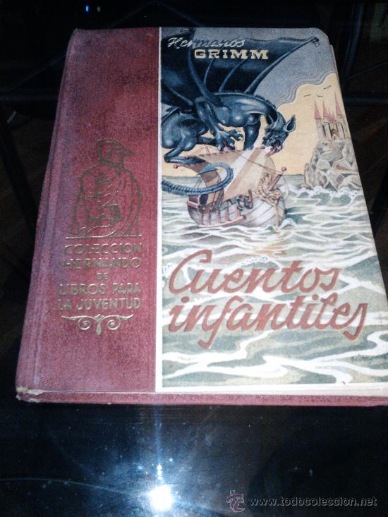 CUENTOS INFANTILES, HERMANOS GRIMM, 1947 (Libros de Segunda Mano - Literatura Infantil y Juvenil - Cuentos)
