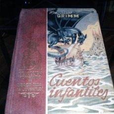 Libros de segunda mano: CUENTOS INFANTILES, HERMANOS GRIMM, 1947. Lote 36369036