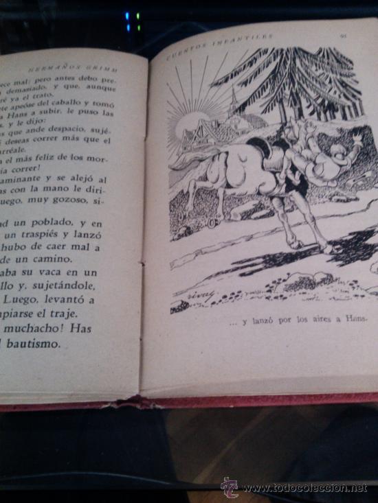 Libros de segunda mano: Cuentos infantiles, Hermanos Grimm, 1947 - Foto 3 - 36369036