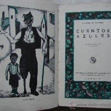 Libros de segunda mano: CUENTOS AZULES. CUENTOS DE CALLEJA.. Lote 105847699