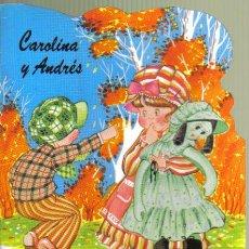 Libros de segunda mano: CAROLINA Y ANDRES, EL OTOÑO. CUENTO TROQUELADO. SUSAETA. LITERACOMIC.. Lote 36558350