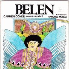 Libros de segunda mano: BELEN-- CUENTO INFANTIL-- ED- ESCUELA ESPAÑOLA. Lote 36592750