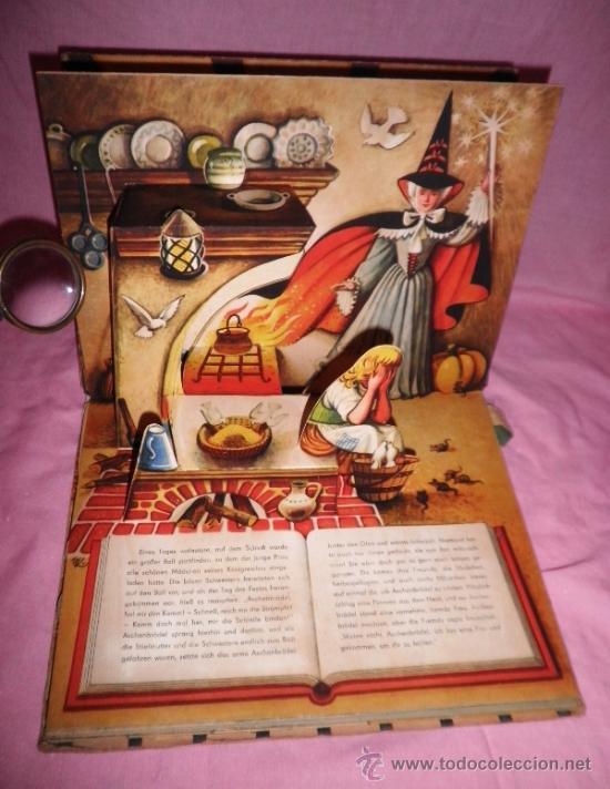 Libros de segunda mano: LA CENICIENTA - AÑO 1961 - BELLISIMO CUENTO TROQUELADO DESPLEGABLE. - Foto 3 - 36619823