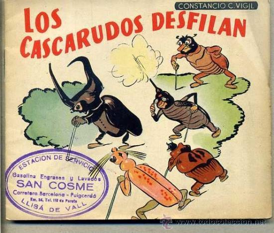 CONSTANCIO C. VIGIL : LOS CASCARUDOS DESFILAN (Libros de Segunda Mano - Literatura Infantil y Juvenil - Cuentos)