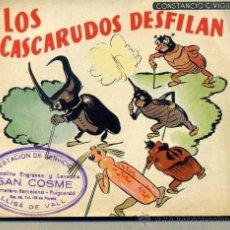 Libros de segunda mano: CONSTANCIO C. VIGIL : LOS CASCARUDOS DESFILAN. Lote 36842737