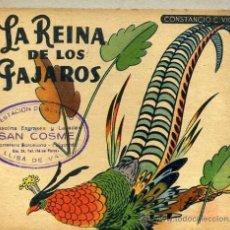 Libros de segunda mano: CONSTANCIO C. VIGIL : LA REINA DE LOS PÁJAROS. Lote 144534869